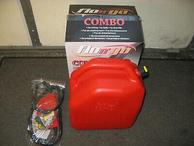 Scepter 06922 Flo N Go Gas Dispenser Combo Pack W Shutoff Valve 6.6 Gal. 25l