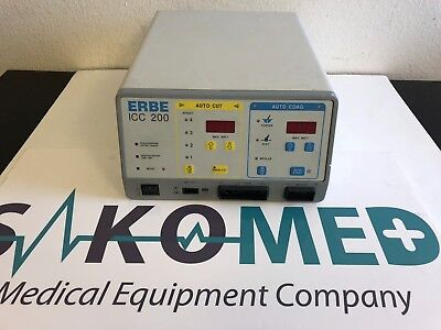 Erbe Icc 200 Electrosurgical Unittested