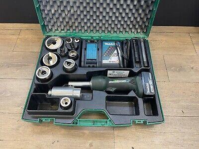 Greenlee Gator Ls50l2 7-ton Battery-hydraulic Knockout Kit
