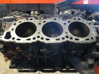 1987 Nissan 300ZX VG30E Auto Engine Motor Cylinder Block BARE VG30E 3.0L 1987 Nissan 300zx Engine