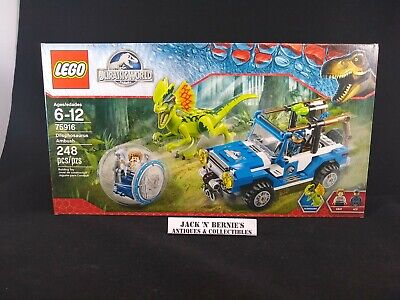 LEGO 75916 Jurassic World Dilophosaurus Ambush MISB GRAY Mini