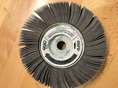 6 Sanding Flap Grinding Wheel Polishing Disc Abrasive Tool 58 Bore 400 Grit