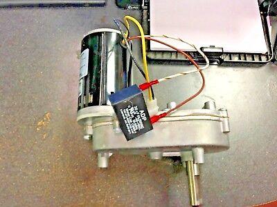 Servend Manitowoc Ice Auger Gear Motor 115 Vac 020003596 Bison Gear