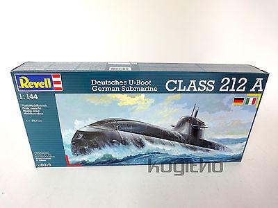 NEU/OVP Revell Deutsches U-Boot Class 212 A Plastik Modellbau 1:144 Bausatz