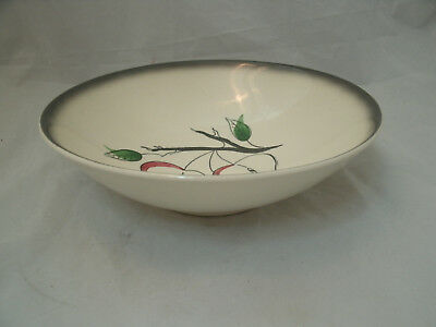 "Blue Ridge Southern Potteries FANTASY APPLE 8 7/8"" Round Vegetable Serving Bowl"
