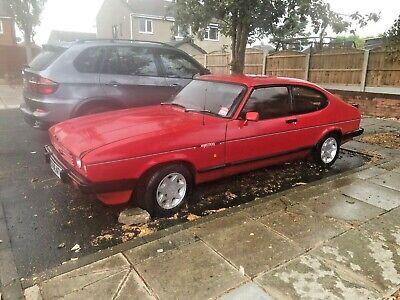 Ford capri 2.8i 1987 restoration project - rare opportunity
