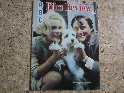 November 1966, ABC FILM REVIEW, Elke Sommer, Robert Redford, David Niven.
