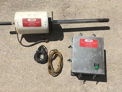 Lenox Instrument Co Boiler Air Cooled Fire Sight With Tv Monitor Connection Box