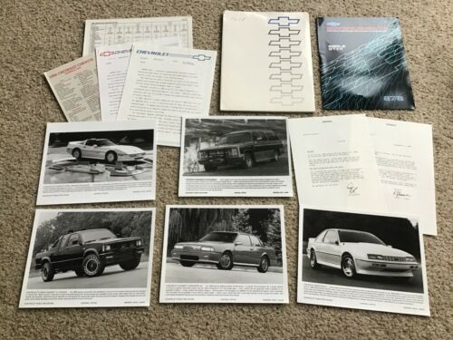 1988 Chevrolet   press kit.