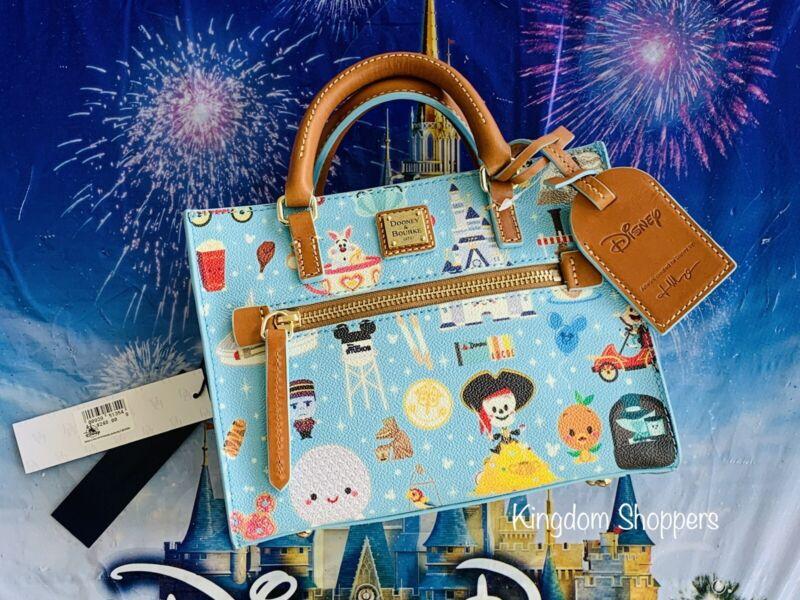 2021 Disney Dooney & Bourke Jerrod Maruyama A Walk In The Park Crossbody Purse