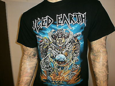 841fd773d ICED EARTH CONCERT T SHIRT Glorious Burden World Tour 2004 Power Thrash  Metal LG