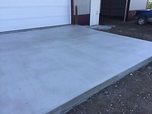 Need flat work done Available tomorrow for concrete work Strathcona County Edmonton Area image 2