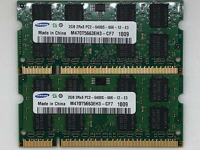 4GB KIT RAM 4 Dell Precision Mobile Workstation M2300, M2400, M4300, M4400 (B4)