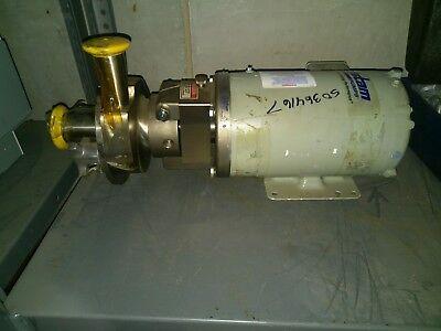 Fristam Fpr 1741 0902754 Stainless Steel Sanitary Centrifugal Pump 1hp Baldor