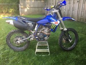 YZ250F dirt bike