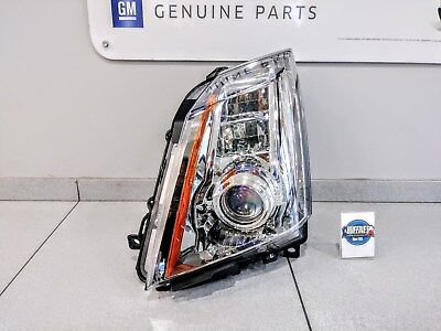 New OEM LH Headlamp - 2008-2014 Cadillac CTS w/High Intensity (T4F) 22755331