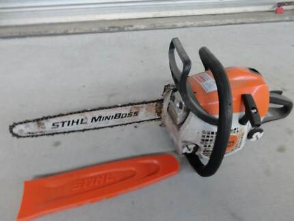 STIHL MINI BOSS CHAIN SAW with Cover Runaway Bay Gold Coast North Preview