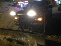 Snow removal service commercial and residential