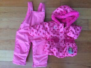DISNEY BABY 12-18 Months Winter Coat & Snow Pants set