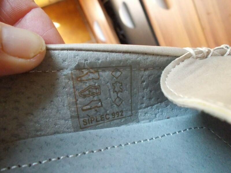 Chaussures mocassins bateaux cuir beige TISSAIA 38 | eBay