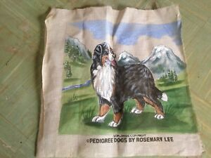 Needlepoint Canvas/Tapestry - Bernese Mountain Dog