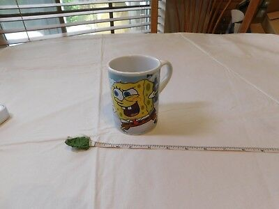 Viacom Squarepants and Patrick Snowball Fight Coffee Mug 2007 Spongebob cup snow (Spongebob Cup)