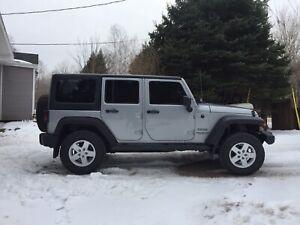 2014 Wrangler Sport Unlimited
