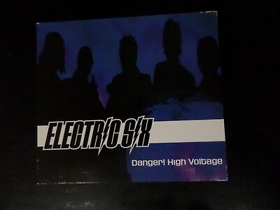 CD SINGLE - ELECTRIC SIX - DANGER HIGH VOLTAGE