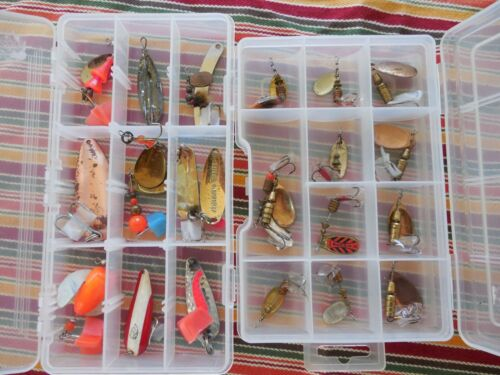 Vintage Fishing Lures 2 boxes