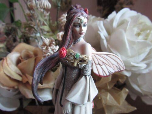 Jessica Galbreth VINTAGE ROSE Fairy Figurine by MUNRO Faerie Glen Fairies BNIB