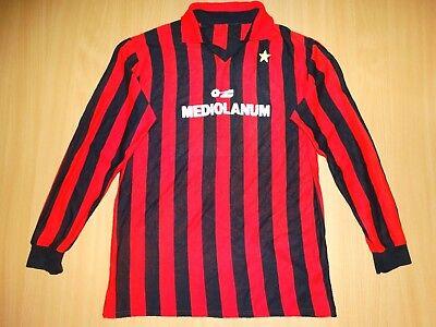 a80d8f4d5 AC MILAN ITALY 1985 1988 MAGLIA FOOTBALL SHIRT HOME MANICHE LUNGHE LONG