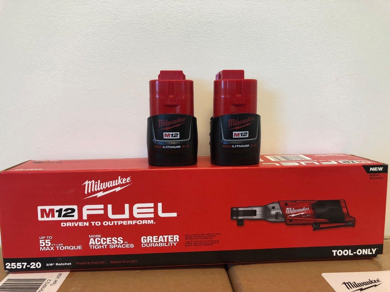 Milwaukee 2557‑20 M12 Fuel 12v Li‑ion 3/8