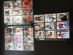 Lot cartes de hockey étoiles  2012-2013