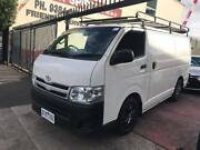 2012 TOYOTA HIACE LWB MANUAL MY12 TURBO DIESEL Coburg Moreland Area Preview