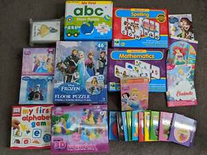 Children's Books and Puzzles - $10 for the lot!
