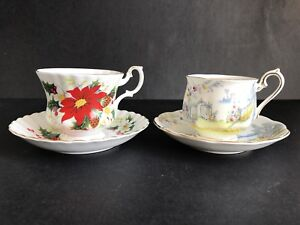 Tea Cups! Rare Tea Cups at Great prices. Everything must go!