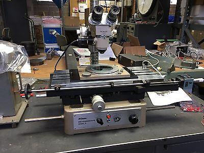Nikon Measurescope Model Ii 2 Reflected And Transmitted Light