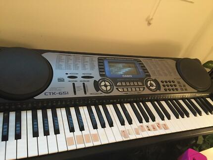 Casio keybord piano