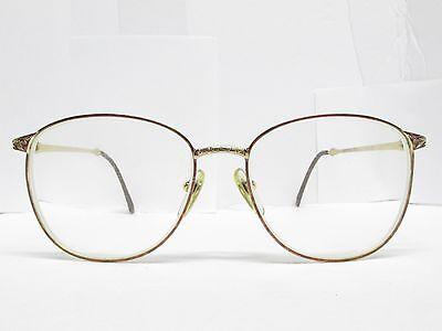 Authentic LAURA ASHLEY VICTORIA Chestnut EYEGLASSES Eyewear FRAMES 55 TV6 93954