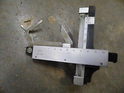 Mrzhuser Wetzlar Leitz Mechanical Xy Stage Microscope Slide Clip Holder