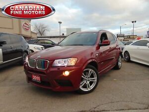 2011 BMW X3 | 35I | M SPORT PACKAGE | PANORAMIC | 300HP!!!