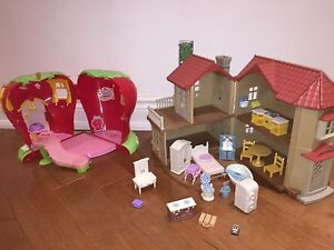 TWO DOLL HOUSES