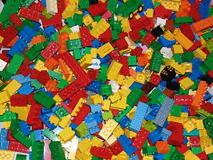 LEGO DUPLO BRICKS 500g RANDOM ASSORTED PIECES + VEHICLE 1/2 KG