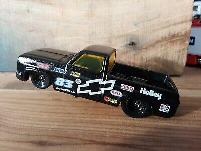 Hot Wheels 83 Chevy Silverado Drag Truck 💥CUSTOM💥REAL RIDERS💥MURDERED...
