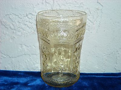 Patrician Water Tumbler  Amber