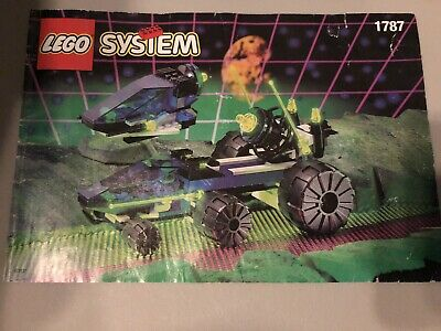Lego Space Unitron Crater Cruiser (1787) Used, Complete 100%, Missing Box