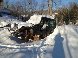 1995 jeep yj complete part out