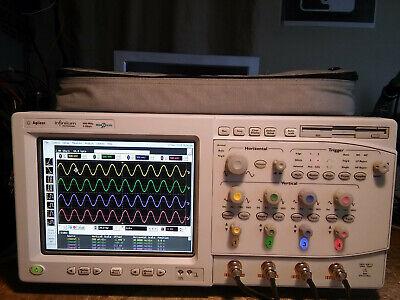 276 Hours Agilent 54831b Or 54832b 600mhz 1ghz 4gsas Oscilloscope Woptions.