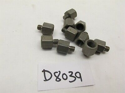10 Pc Desoutter Atlas-copco Drill Spindle Adapter 14 -28 To 38-24 -d8039