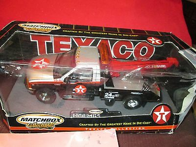 Matchbox 1 24 Texaco Ford F350 Tow Truck Miller Industries Towing Wrecker Holmes